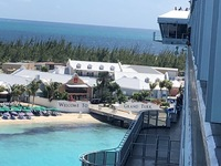 The wharf view in Grand Turk
