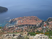 Taken from top of Dubrovnik after cable car assent
