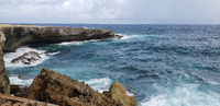The rugged coast of Aruba is one of my favorite places in the Caribbean