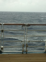The bolt standing between you and falling overboard. Insane!