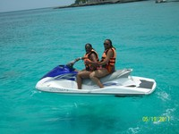 Jet ski is Cayman Islands
