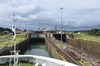 Another photo of the Gatun Locks at the Panama Canal