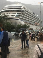 Viking Sky in rainy Montenegro!