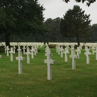 Normandy cemetery for US troops