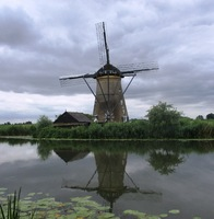 A visit to Kinderdijk and one of it's windmills, Netherlands
