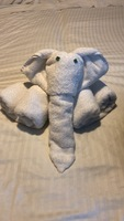 Towel elephant made my Jhonny