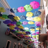 Umbrellas in San Juan