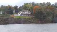Large house along the Hudson