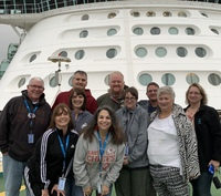 Our group before we set sail