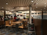 Wind Jammer Dining area for the buffet. Always had a table available. It wa