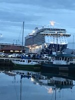 Majestic Princess docked at Hobart Tasmania.