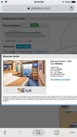 Selection of L201 balcony cabin when booking cruise