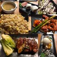 Teppanyaki dinner - Asian Market Kitchen specialty dining