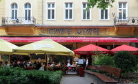 Budapest has wonderful outdoor restaurants.