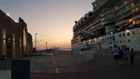 Celebrity Constellation berthed at Dubai Cruise Terminal - 31st December 20