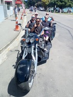 Trike tour with V8 Trikes (Christchurch) in Akaroa.