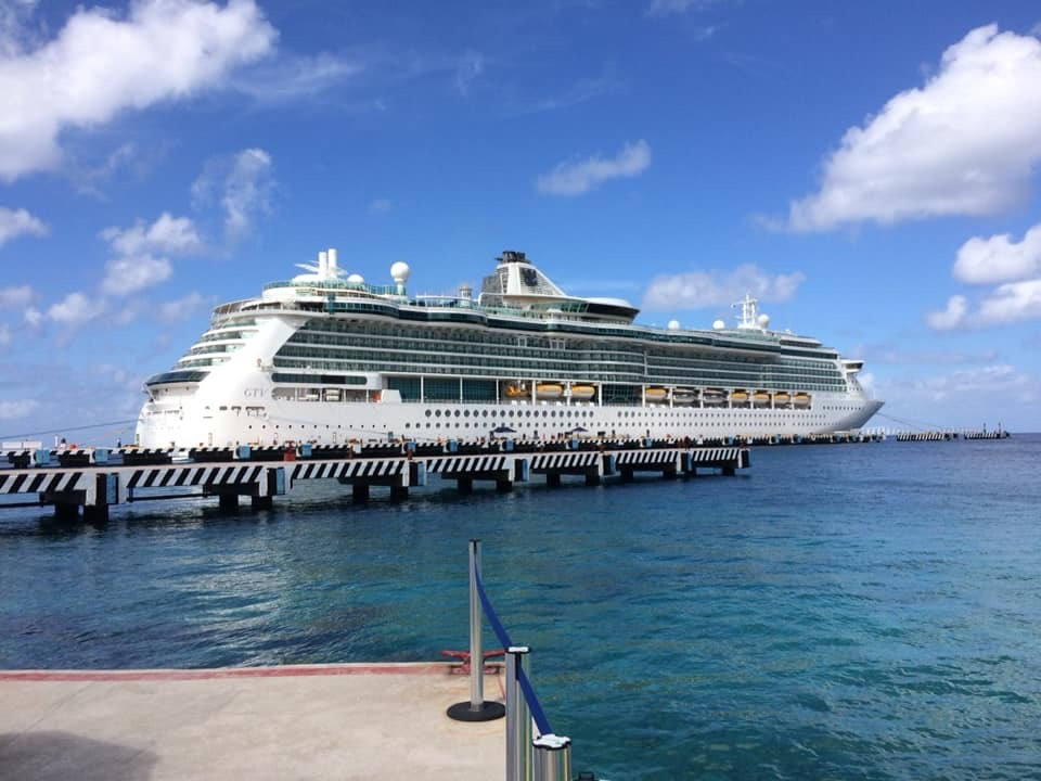Docked in Port of Cozumel