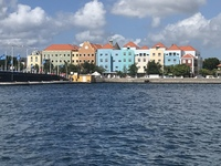 View from a restaurant in Curaçao