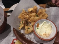 "Jamie's Italian to die for ""Fried Squid aka calamari strips""  t"