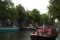 House Boat on the Amsterdam Canal.  Have fun exploring.  Bring a map.