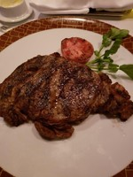 Ribeye dinner at Cagneys