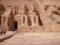 Abu Simbel, this is and optional tour.