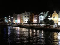 Curacao at night.
