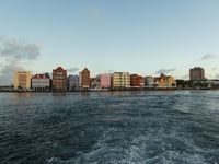 Curacao from the ferry boat.