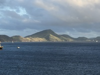 Basseterre—view from the ship.