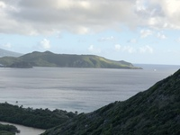 St. Kitts–Nevis—where the Atlantic Ocean and Caribbean Sea meet. Took t