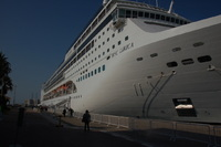 MSC Lirica at port of Dubai