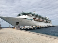 Vision of the Seas in Cozumel