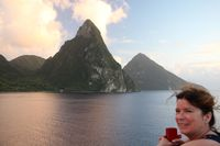 Ste Lucia and the Pitons