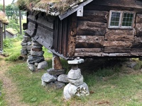 Historic Norwegian community and cemetary