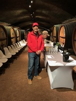 One of two private wine tours. Here we are in the cave.