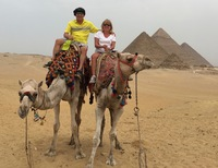 Egypt at the Great Pyramids!