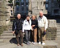 Our traveling group in Cologne