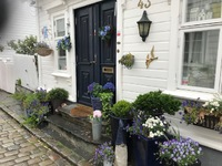 Stavanger, Norway.  Old town.  Quaint area for walking and admiring the cha