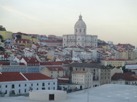 Old Lisbon from suite balcony