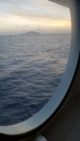 view out of porthole