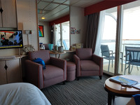 A view of our junior suite cabin