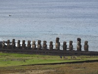 Moai at Easter Island