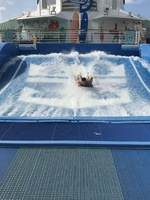 Flowrider on the first day