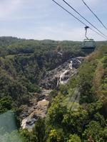 Kuranda Rail Excursion, return on #Skyrail over the rainforest.