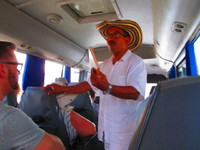 Tous, our guide in Cartagena