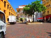 Walled City in Cartagena