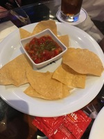 This is how many chips I was served in the Sports Bar. Many times. Same chi