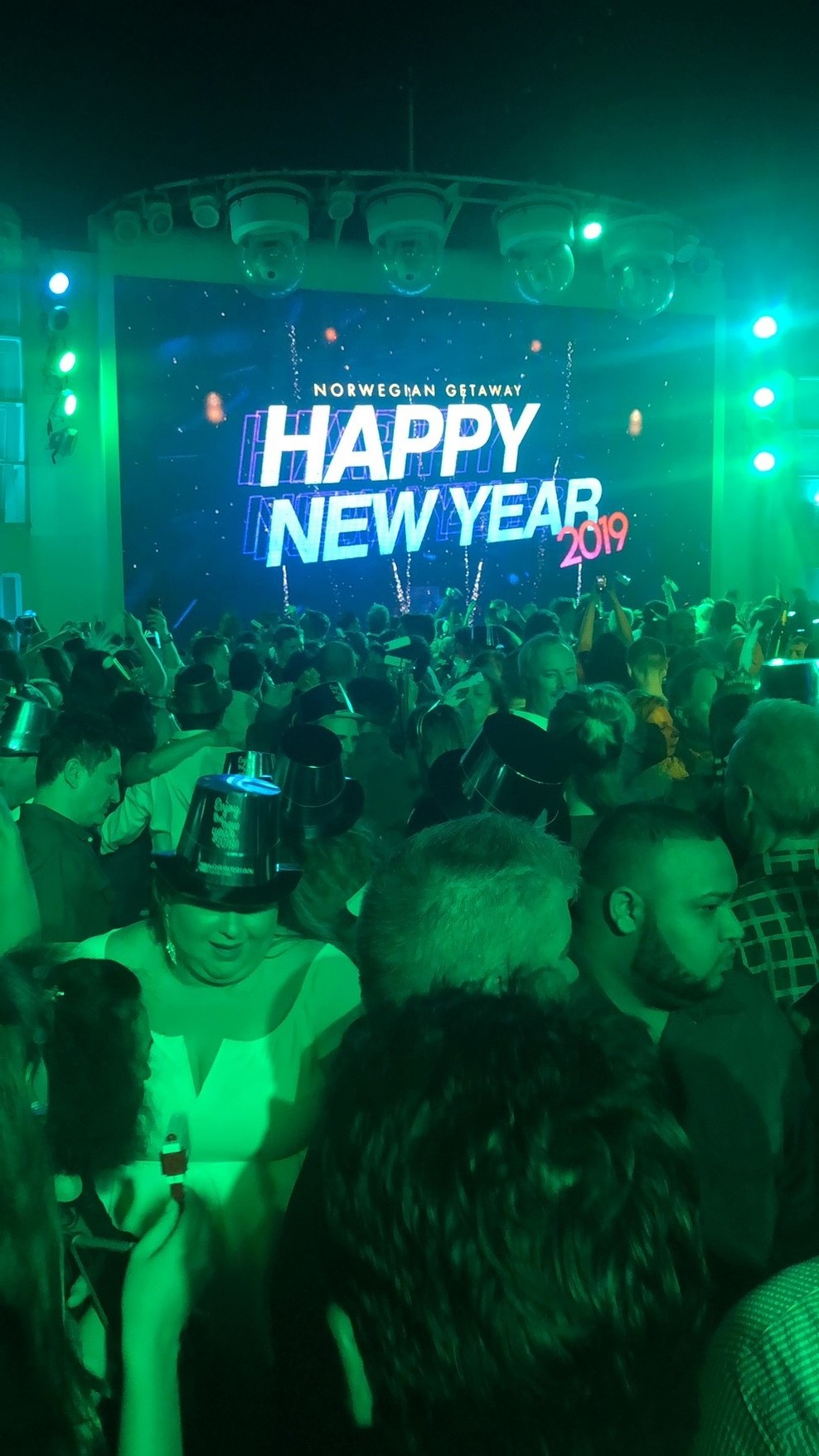 the NYE dance party at Spice H20.  Best NYE party i've ever been to, in