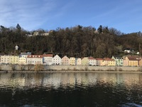 Floating beside Passau, Germany