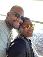 My Wife and I on of honeymoon cruise trip with Carnival Elations to the Bah